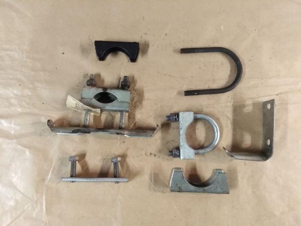 Syrena fabrycznie nowy wieszak, mocowanie rury wydechowej, głównej