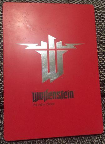 Wolfenstein The New Order - PS4 - Polska Wersja - SteelBook - jak NOWA