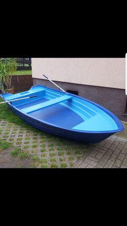 Nowa Duża łódka łódź wędkarska wiosłowa