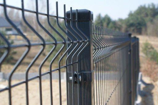 Panel ogrodzeniowy 4mm grafit