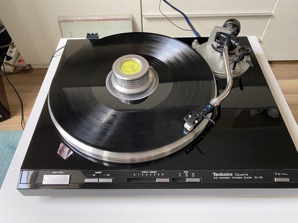 Gramofon Technics SL Q3 po renowacji