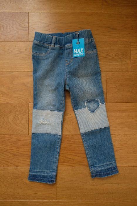 Nowe spodnie jegginsy GAP toddler girl 4 lata Białystok - image 1
