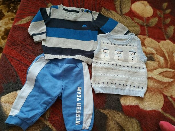 Пакет одежды на малыша 3-6 мес.