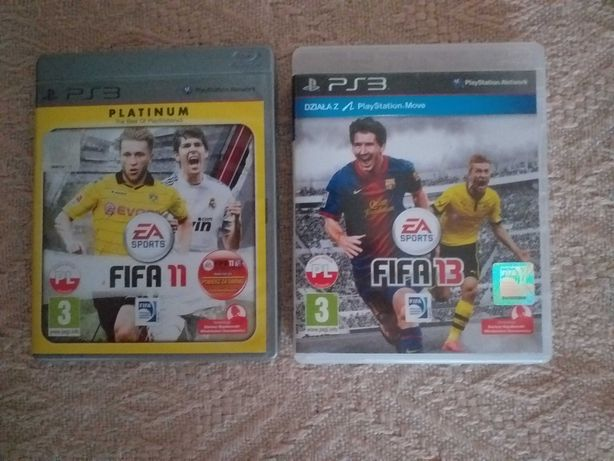 Gry na PS3 - FIFA 11 , FIFA 13