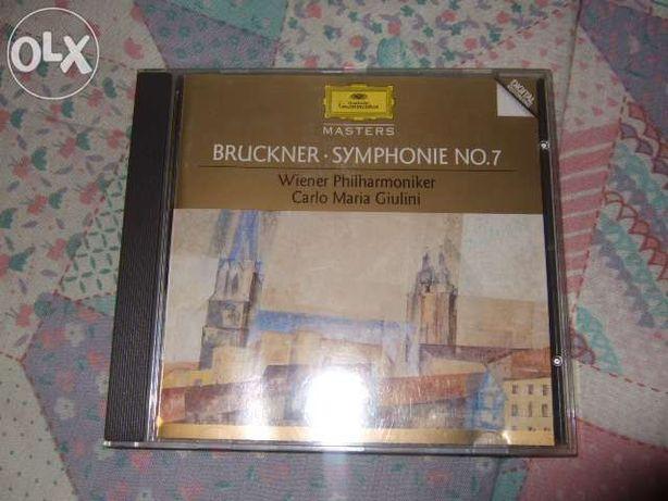 Sinfonia nº7 do compositor Bruckner, da Grammophone