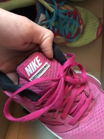 Nike flex experience RN 37,5 adidasy buty rozowe
