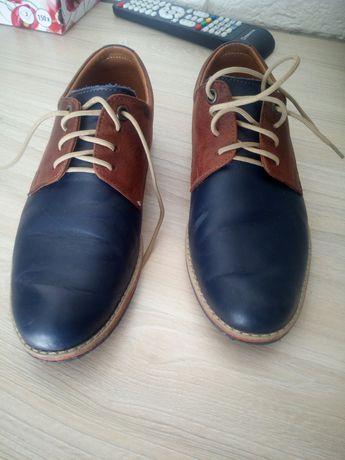 Eleganckie buty skórzane chłopięce komunia /garniturowe