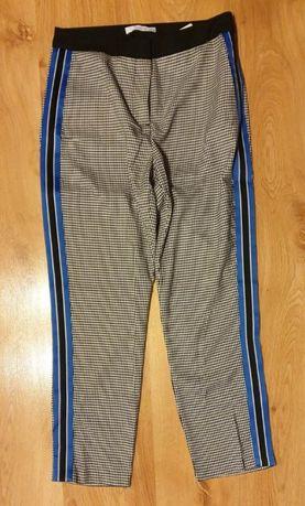 Eleganckie spodnie z lampasami w kratę Reserved 38