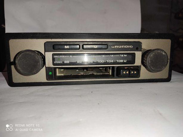 Radio Grundig Antigo para Automovel