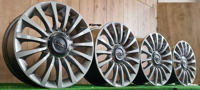 NOWE Oryginalne FELGI Aluminiowe do FIAT 500 17x5x98