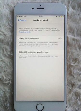 iPhone 6 plus 100% baterii