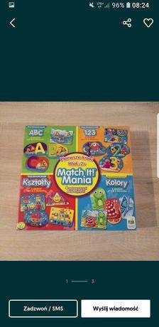 Puzzle Match it mania dla maluszka