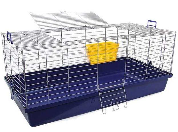 Nowa duża klatka XXL 120 cm dla królika świnki morskiej -wysoka jakość