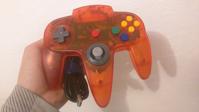Pad Nintendo 64 usb switch pc emulator raspberry pi