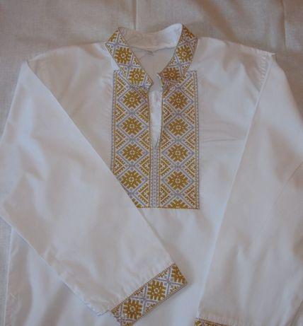 Вышиванка - рубашка на мальчика 7-9 лет