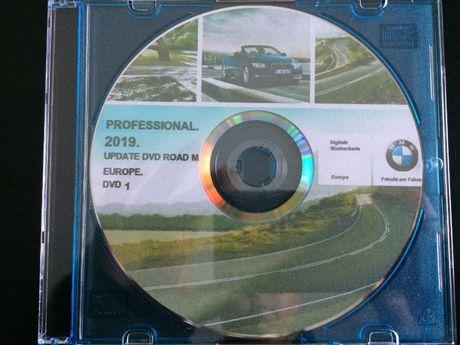 DVD GPS BMW/MINI Road Map Europe Professional 2019