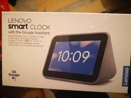 Lenovo Smart Clock com Google Assistant, NOVOs embalagem selada