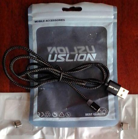 Новый магнитный кабель USLION для зарядки-длина 1метр