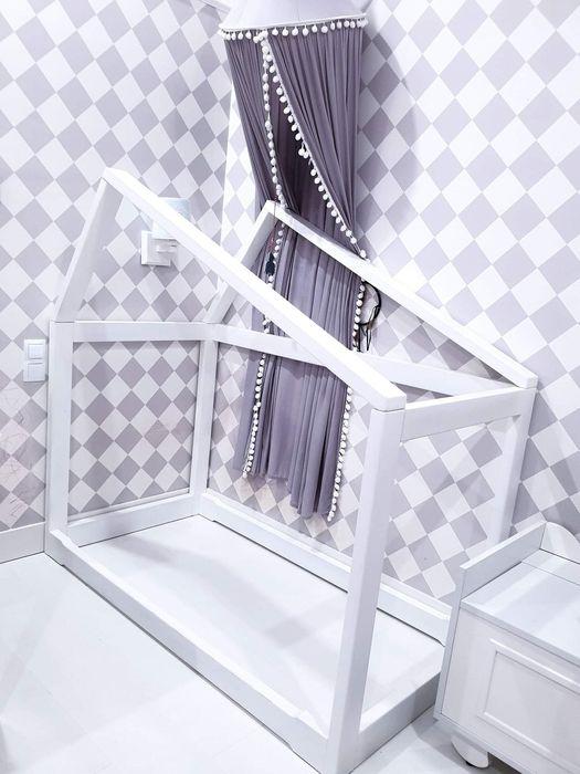 Łóżko domek dla dziecka 140 x 70 Piotrków Trybunalski - image 1