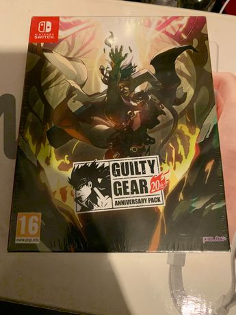 Nintendo Switch Guilty Gear 20Th anniversary pack (selado)