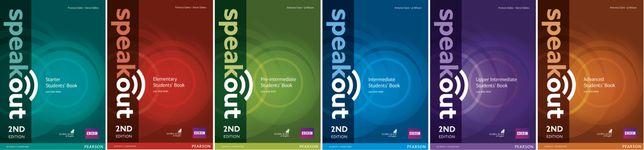 Електронні книги з Англійської мови Speakout 2nd книги+відповіді+аудіо