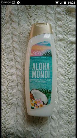 Senses Avon Kremowy żel pod prysznic Kokos i Kwiat Tahiti, 500ml