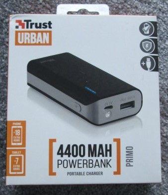 Powerbank Trust Primo 4400 MAH