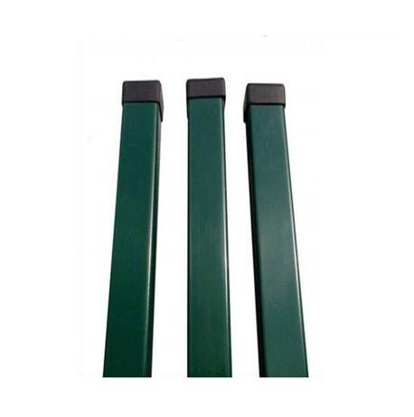 słupek ogrodzeniowy 60x40x1,5mm ocynk+ral H-2m
