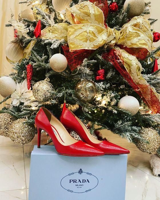 Туфли Prada, оригинал Вишенки - изображение 1