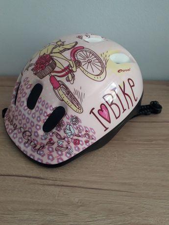 Kask na rower,rolki dla dziewczynki