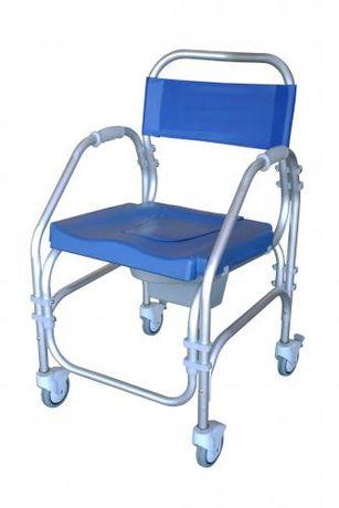Cadeira de Banho sanitária com rodas