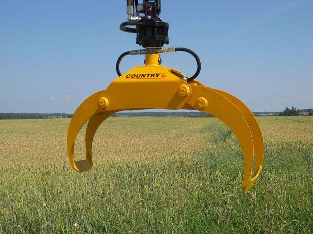CHWYTAK do drewna 0,08 Country Cyklop do Żuraw HDS Dźwig Rotator