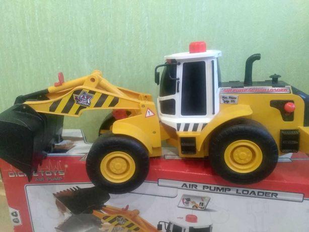 Погрузчик, трактор, бульдозер, машина Dickie Air Pump Loader