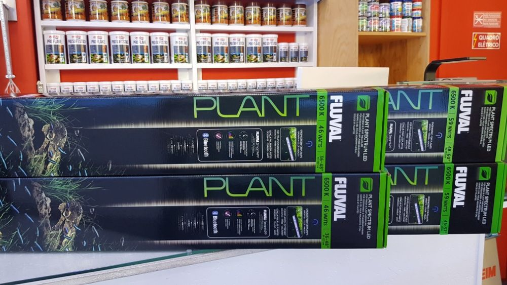 Calha led fluval plant 32w para aquário