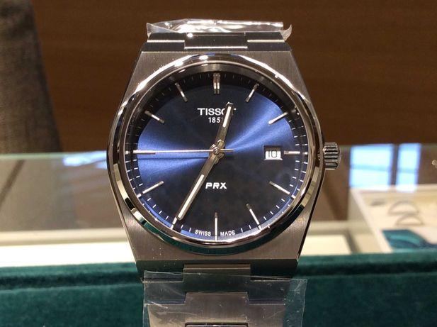 NOWY Tissot PRX T137.410.11.041.00 męski kwarcowy