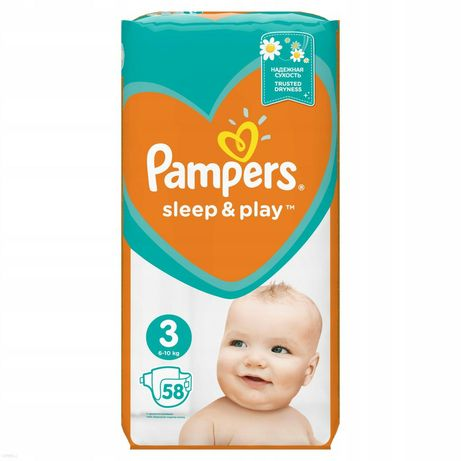 Pieluchy Pampers Sleep & Play 3
