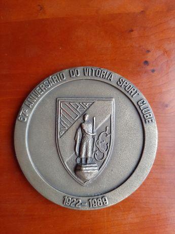 Medalha Vitória de Guimarães 67° aniversário (1989)