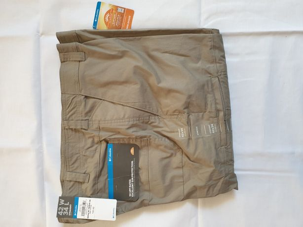 Columbia omni-shade w42 L34 Hові чоловічі штани брюки новые мужские