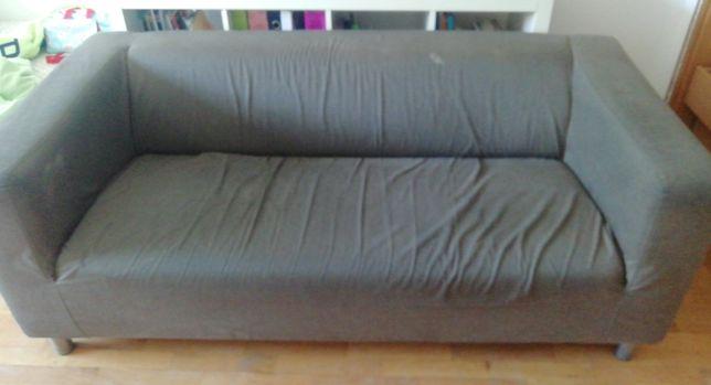 Sofá ikea cinzento em bom estado