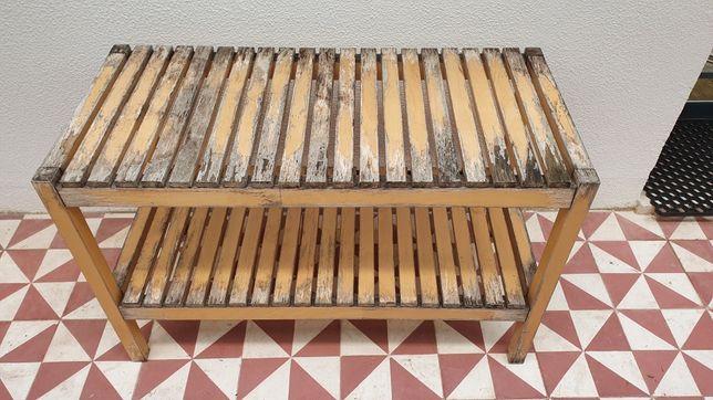 Banco/Sapateira madeira IKEA MOLGER