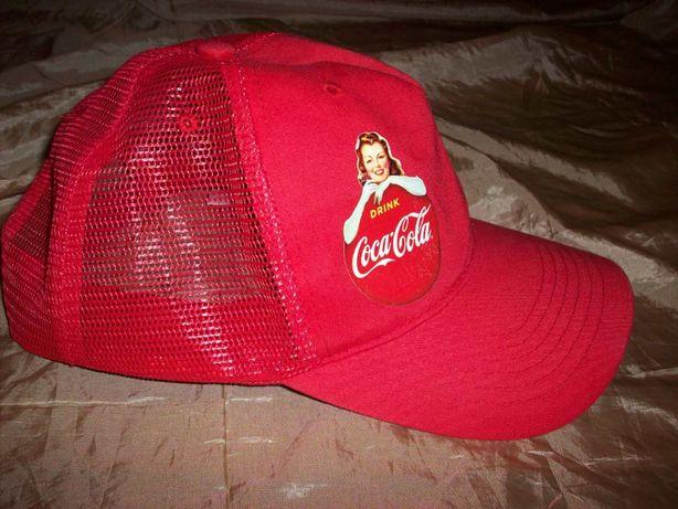 Винтажная летняя кепка бейсболка Coca-Cola