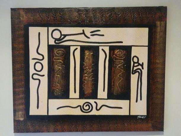 Pintura em relevo