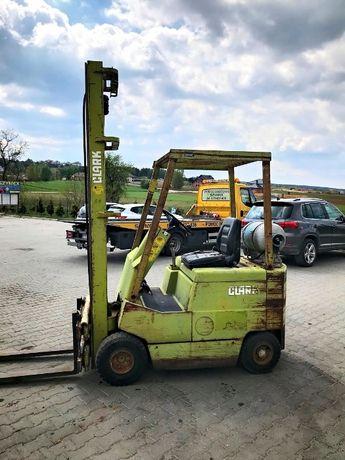 Wózek widłowy CLARK M500 LPG 1500kg 3.90m 2100mtg MITSUBISHI HYSTER