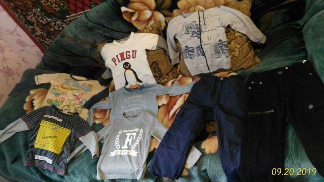 Продам кофтачки и штани теплие и две джинсовые куртки