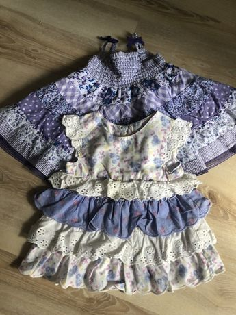 Mothercare Платье Сарафан размер 6-9 месяцев цена за два 150 грн