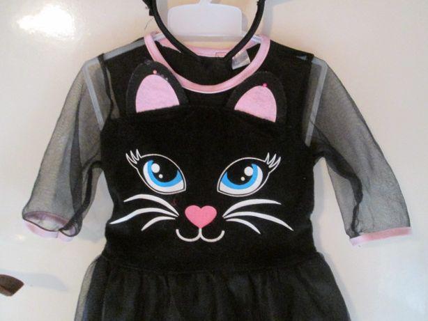 strój kotka na 3-4 latka 98 cm - 104 cm