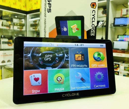 "GPS Навигатор 7"" Gps ND710 8GB в комплекте IGO PRIMO TRUCK"