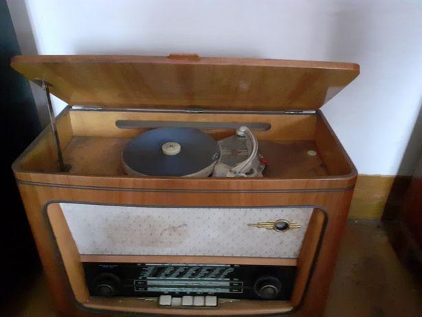 Stare Radio Serenada 6299 z gramofonem