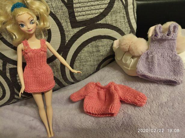 Кукла платье плаття одежда одяг кофта ляльки Барби Барбі
