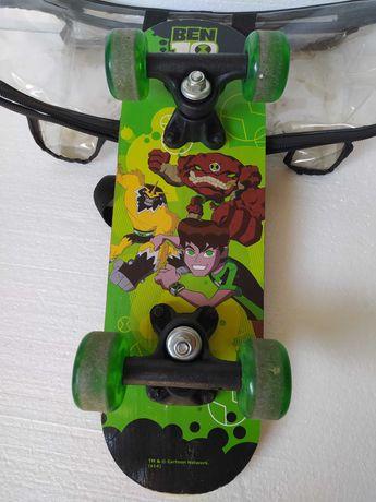 Детский скейт Ben 10 Скейтбоард мини пеннибоард